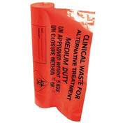 Clinical Waste Bag - Orange Heavy Duty 90L