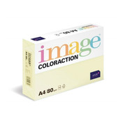 Image Coloraction Paper, Pale Yellow (Desert), A4 80GM, 5x500 Sheets