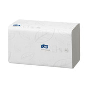 Tork Advanced Singlefold Hand Towels, 2 ply, White, Pack of 3750