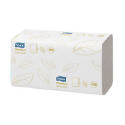 Tork Premium Extra Soft Singlefold Hand Towels, White, 2 ply, Pack of 3000