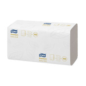 Tork Xpress Extra Soft Multifold Hand Towels, 2 ply, White, Pack of 2100