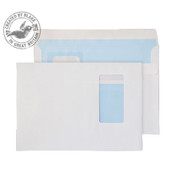 Office Envelopes C5 Self Seal White 100gsm Pack of 500