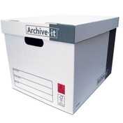 Archive-it Storage Box, Pack of 10