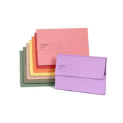 Exaclair Guildhall Document Wallets Blue Pack of 50