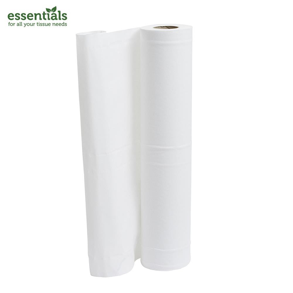 Incredible Essentials Plus White Couch Roll 50M X 500Mm X 9 Rolls Unemploymentrelief Wooden Chair Designs For Living Room Unemploymentrelieforg