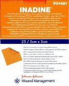 Buy Inadine Non Adherent Dressing, 5 x 5cm, Pack of 25 (JKP01481) sold by eSuppliesMedical.co.uk