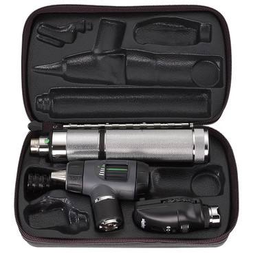 Welch Allyn 3.5V Prestige Set with C-Cell Handle and Throat Illuminator