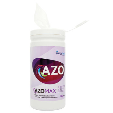 AZOMAX Cleaning & Disinfection Wipes in Tub, x 200