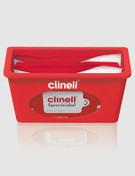 Red Wall Dispenser for Clinell Wipes