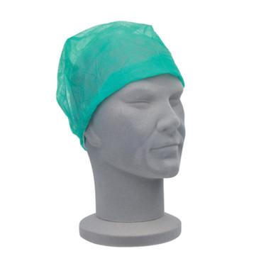 Nurse Caps, Green, Pack of 100