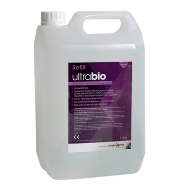 Ultrabio Disinfectant Cleaner, 5L, Each