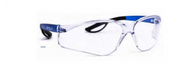 Raptor Plastic Frame Safety Spectacles - BLUE