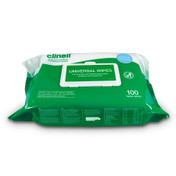 Clinell Universal Wipes –Heavy Duty Wipes 100 pack x 6
