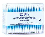 Buy Universal Cotton Buds, Double Headed, Pack of 200 (UN986) sold by eSuppliesMedical.co.uk