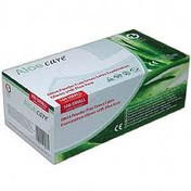 Buy Aloe Care, Aloe Vera Coated Powder Free Latex Examination Gloves, Small, Box of 100 (GN34S) sold by eSuppliesMedical.co.uk