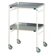 Buy Sidhil Halifax Surgical Trolley (610mm x 460mm) (1501/A/3) sold by eSuppliesMedical.co.uk