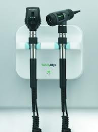 Buy Welch Allyn Green Series Wall Set with Coaxial Ophthalmoscope and MacroView Otoscope (77710-72M4) (77710-72M4) sold by eSuppliesMedical.co.uk