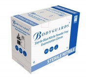 Buy Bodyguards Nitrile Sterile Exam Gloves, Medium, Box of 50 Pairs (GS6906) sold by eSuppliesMedical.co.uk