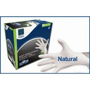 Premier Soft Vinyl Gloves, Powder Free, Large, Sterile, Box of 50 Pairs