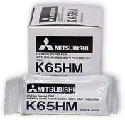 Buy Mitsubishi Thermal Printer Ultrasound Paper, MITK65HM, 4 rolls (TMC-MITK65HM) sold by eSuppliesMedical.co.uk