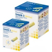 Buy Autolet Unistik 3 Blood Lancets, Box of 100 (AUAT1002) sold by eSuppliesMedical.co.uk
