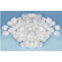 Buy Cotton Wool Balls, Small, Pack of 500 (VC01955) sold by eSuppliesMedical.co.uk