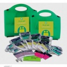 Buy 50 Person Workplace First Aid Kit in Green Aura Box (REL114) sold by eSuppliesMedical.co.uk