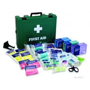 Buy Workplace First Aid Travel kit in Stockholm Bag (REL384) sold by eSuppliesMedical.co.uk