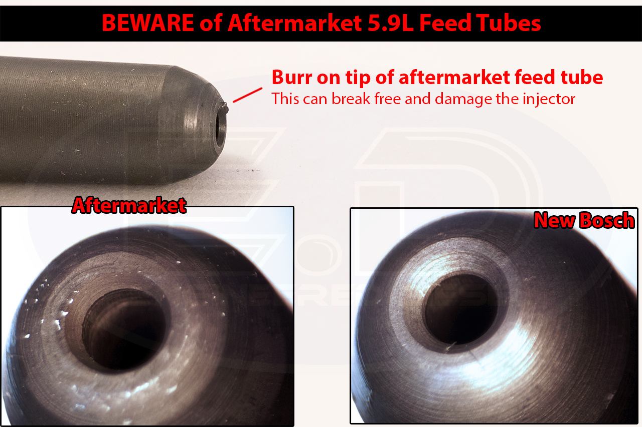 Beware of Aftermarket Feed Tubes!!