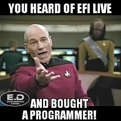 meme heard of efi live bought programmer