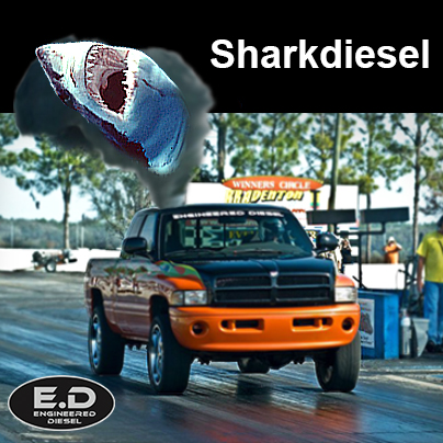 Engineered Diesel Sharkdiesel truck