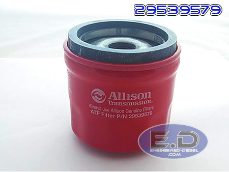 Genuine Allison 1000 Deep Pan Kit Allison Deep Pan AND External Spin On Filter 29536522 Internal Deep Filter 29539579 29542824