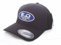 Engineered Diesel FlexFit Logo Hat - Cool & Dry - Black