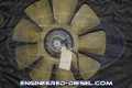 5.9L/6.7L Cummins Radiator Fan with Clutch - USED OEM- 2003 - 2009