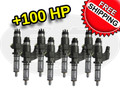 100hp 6.6L LB7 Duramax Injectors 2001 - 2004 - Set of 8 - USED