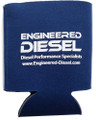 "Can Cooler - Collapsible - ""Engineered Diesel"" -  Navy Blue"