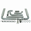Powerstroke Exhaust - Turbo Back Exhaust, Dual stacks. 409 Stainless.