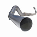 Powerstroke Exhaust - Turbo Back, Single Side. 5in. Aluminized.