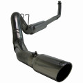 Cummins Exhaust - Turbo Back Single Side. 409 Stainless