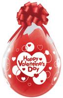"Qualatex 18"" Stuffing Balloon, Happy Valentines Day"