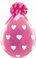 "Qualatex 18"" Stuffing Balloon, BIG HEARTS"