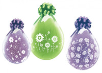 """Qualatex 18"""" Stuffing Balloon, MOTHERS DAY ASSORTED PRINTS"""