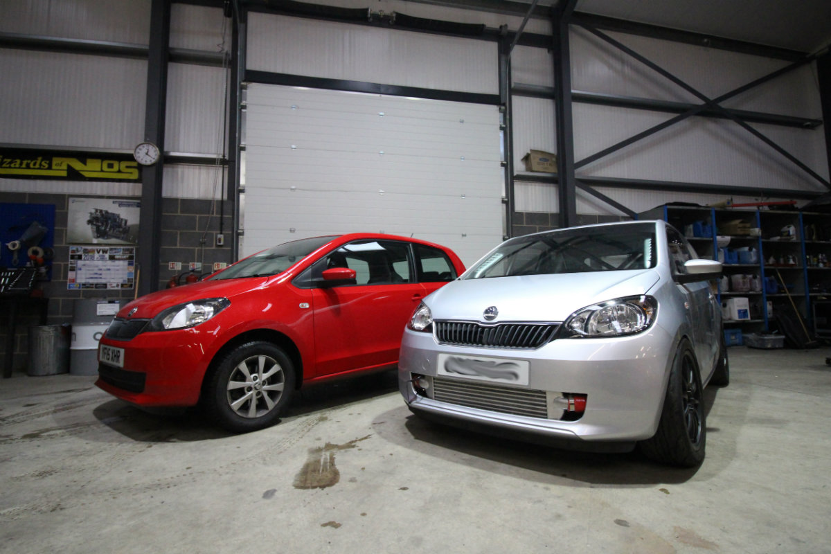 Citigo Go First Tdi Darkside Developments Skoda Fuse Box Oh And Heres A Photo We Took While Servicing Stock Few Weeks Ago