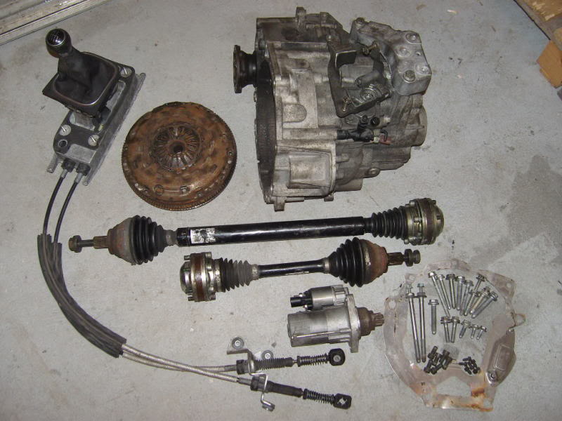 RYAN P's 6 speed 02M Conversions and ALL Euro TDI Parts - TDIClub Forums