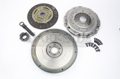 Darkside Single Mass Cast Flywheel & Silent Valeo Clutch Kit for 5 Speed 02J-B & 6 Speed 02S (Mk5 Platform)