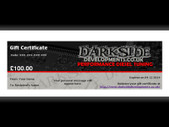 Darkside Developments Gift Certificate