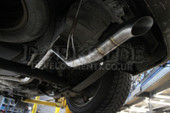 Darkside VW Caddy 2K / MK3 Cat-Back Exhaust System - Discreet Tip
