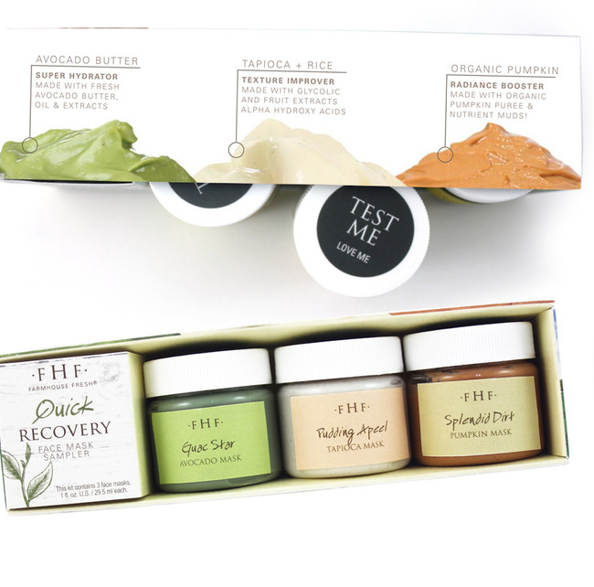 FarmHouse Fresh Quick Recovery 3-Piece Mask Set