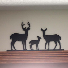 Wildlife Silhouette Family - Deer Family