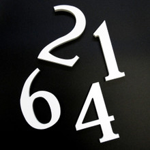 UV PVC Numbers & Letters - 1/2 Inch Thick  | SignFactory.com